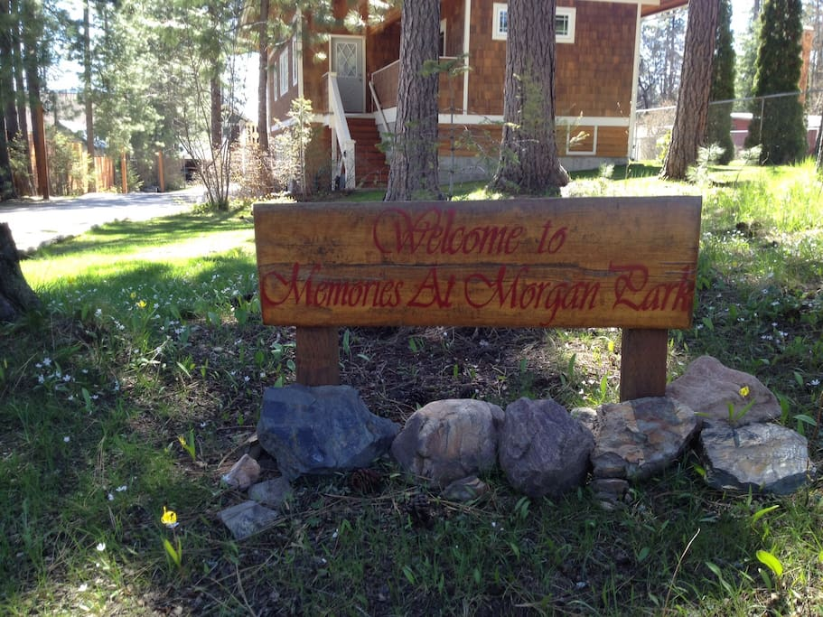 """Welcome to """"Memories at Morgan Park""""...wonderful times to always remember."""