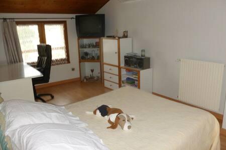 chambre à l'étage d'une villa - Portet-sur-Garonne