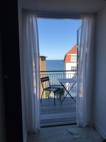 Apartment in central Hellerup with stunning view