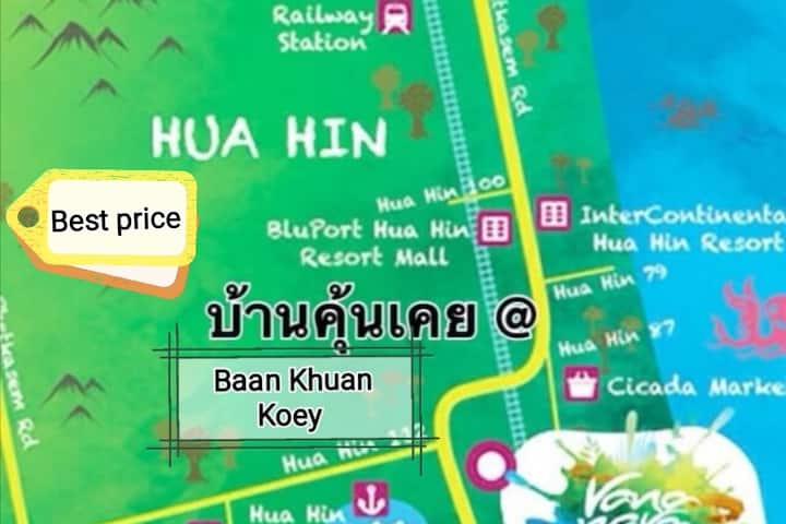 Khun Kuay8000/month Include water and Electricity
