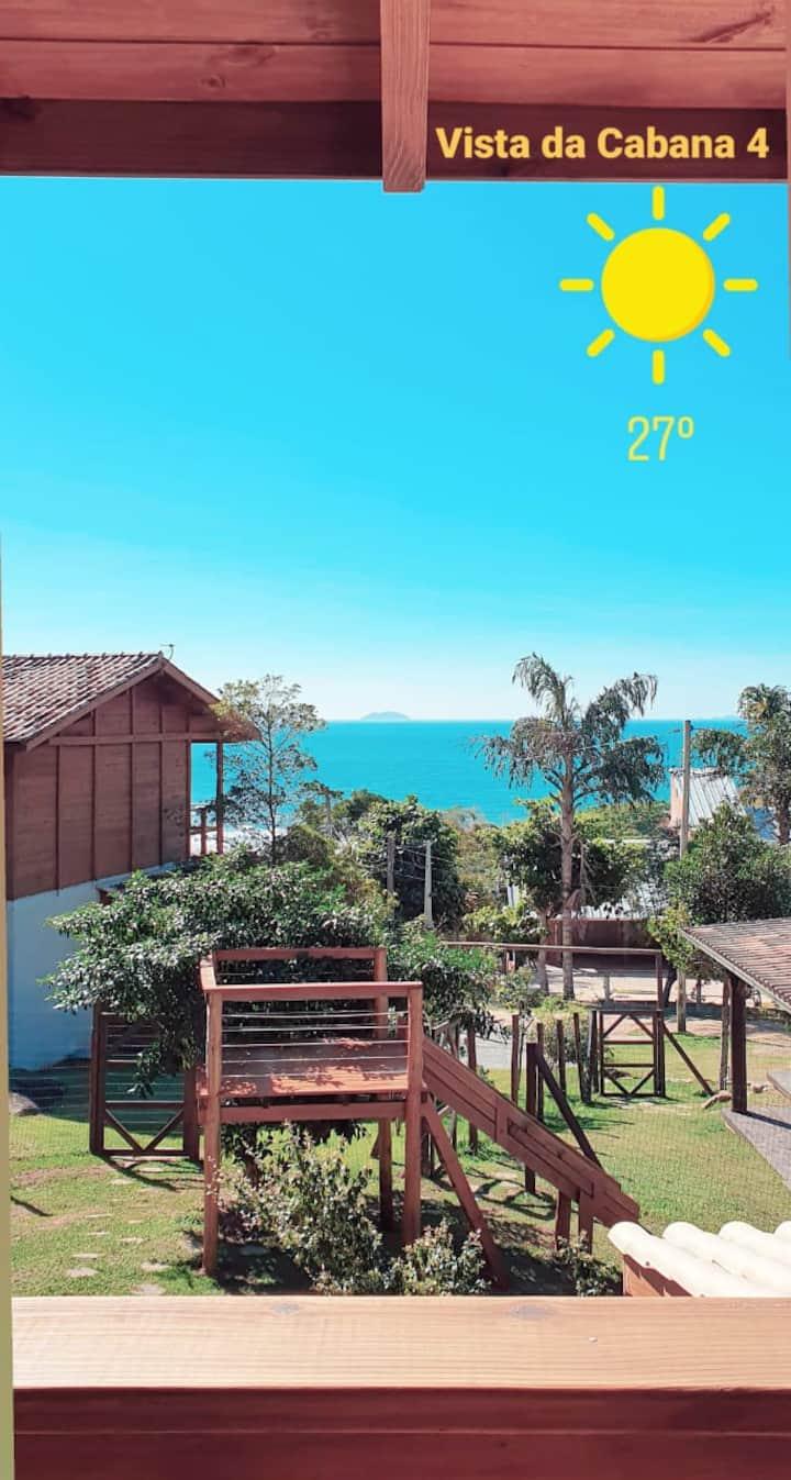 Cabanas do Edu 04 Loft - Praia da Gamboa
