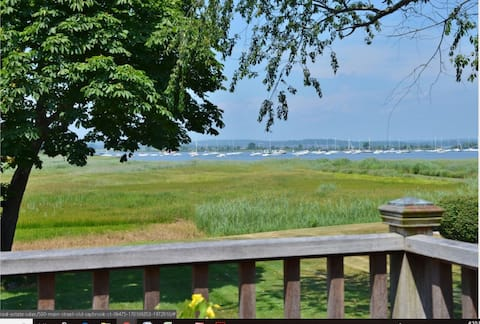 Sea Captain's Water View & Deck in c1737 Home