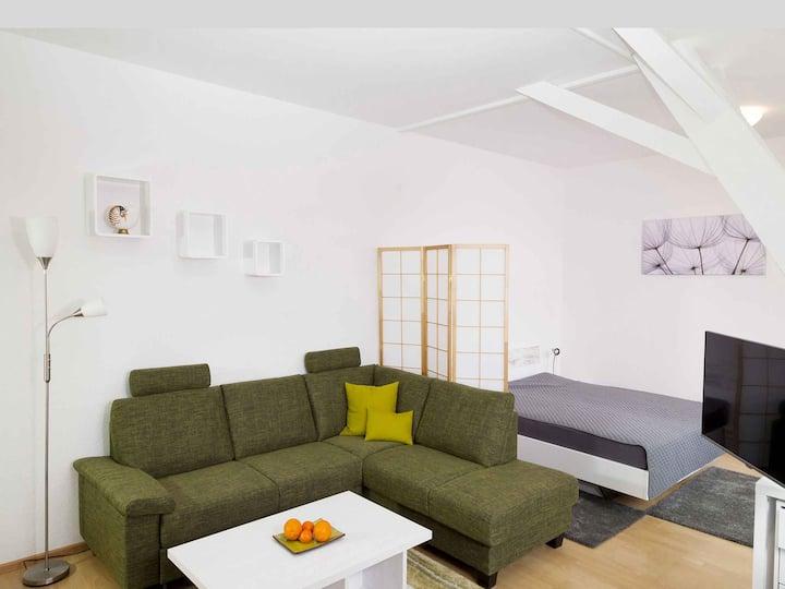 Wiesental-Lounge, (Steinen), Apartmentwohnung, 35qm, 1 Wohn-/Schlafraum, max. 3 Personen