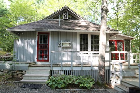 tranquil, updated lakefront cottage - Sullivan - Chatka