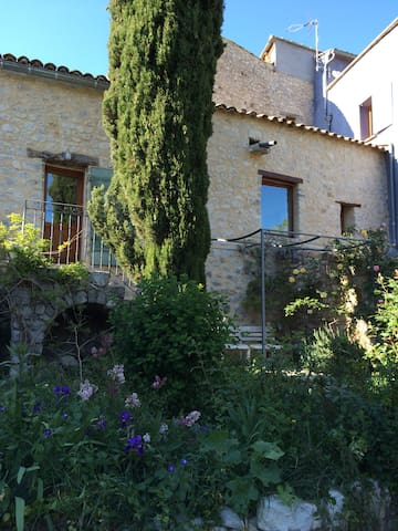 The garden and back of the house