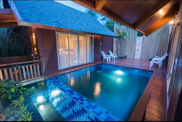 Emerald Garden Private Pool Villa Resort 1 King