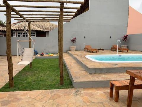 Casa com piscina condomínio Sonho de Vida