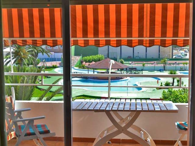 Bel appartement avec piscine et mer - Peñíscola - Lyxvåning