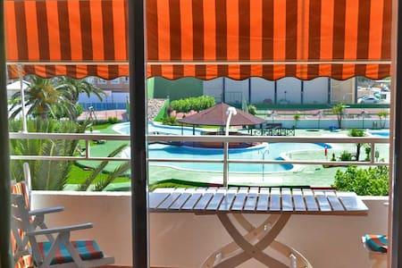 Bel appartement avec piscine et mer
