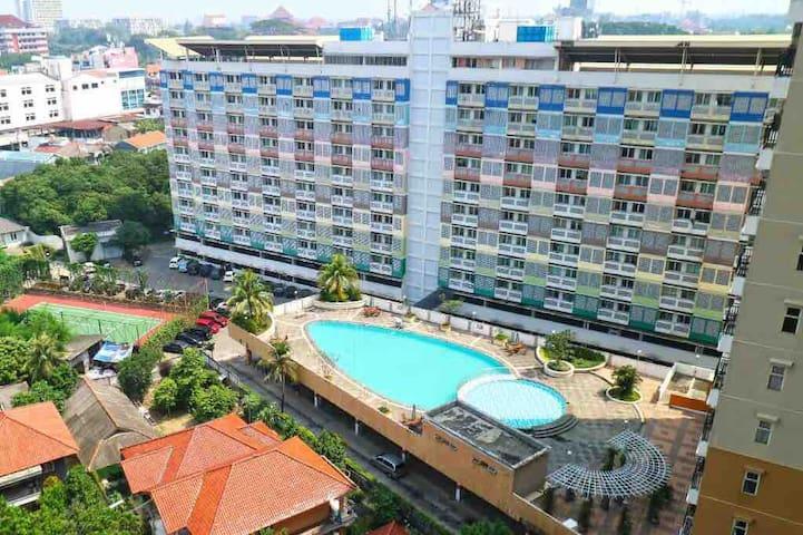 Apartemen Margonda Residence 1 Full Furnish Nyaman