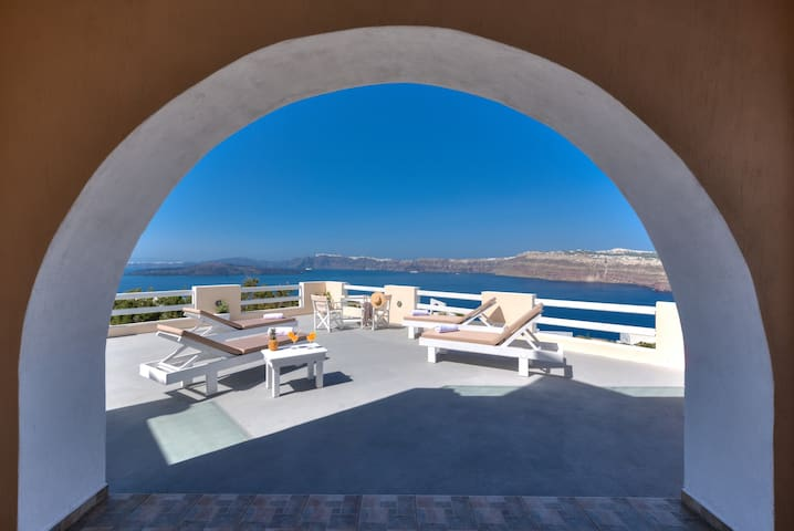 Akrotiri apartment with caldera view 1 - Akrotiri - Apartamento
