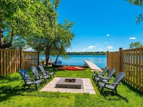 Oasis au bord du lac au cœur de Richmond Hill