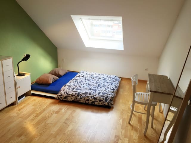 One room in Center of Bielefeld - Bielefeld - Leilighet