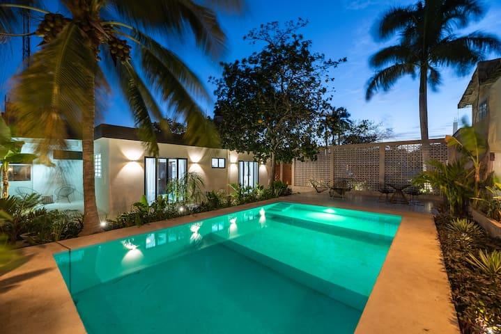 Volver a Verde 2 -Loft, Terraza y Piscina Tropical