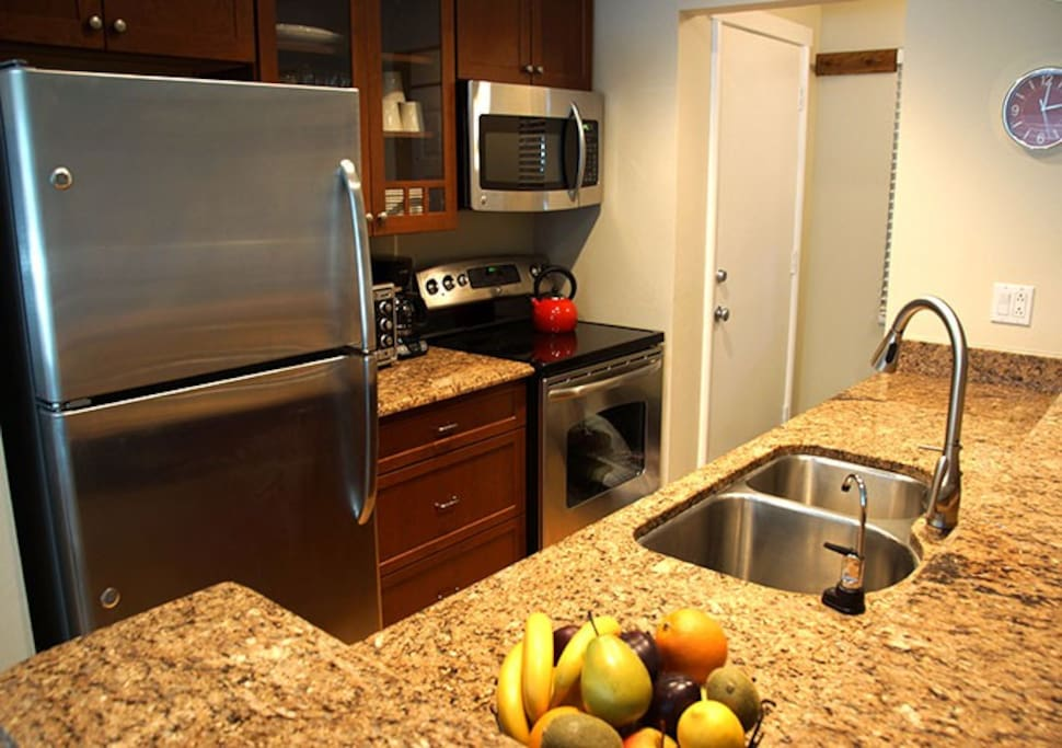 Make your own meals in this renovated kitchen
