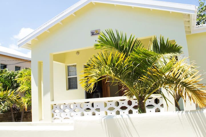 Quaint 1 Bedroom Apartment Near Town (Unit A) - Basseterre - Wohnung