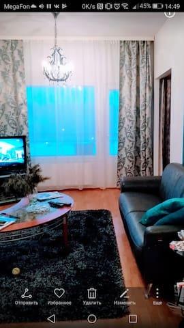 Удобная квартира51м для туризма, шопинга и отдыха