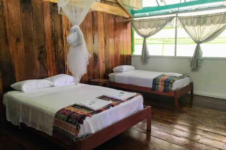 Deluxe Triple Room in beautiful Selva Vida Lodge