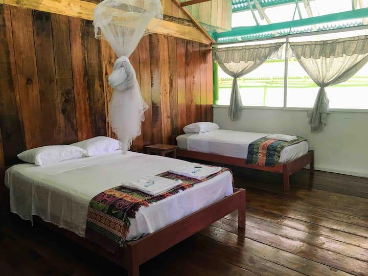 Deluxe Triple Room in beautiful Selva Vida Lodge