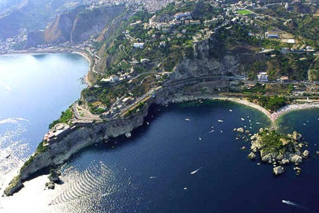 Spiagge di Taormina e Isola Bella
