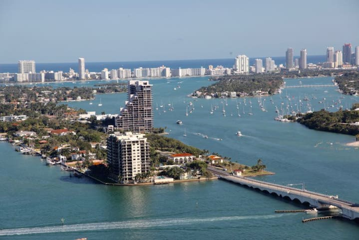 AMAZING 2 BED LUXURY APART WITH BAY&CITY VIEW - Miami - Condominio