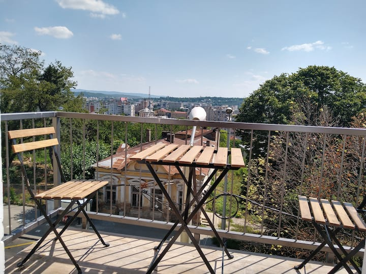 Appartment with panoramic view over Iasi