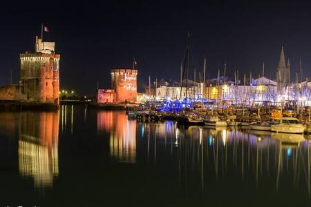 UNE NUIT MAGIQUE SUR UN  BEAU VOILIER DE 10 M - La Rochelle