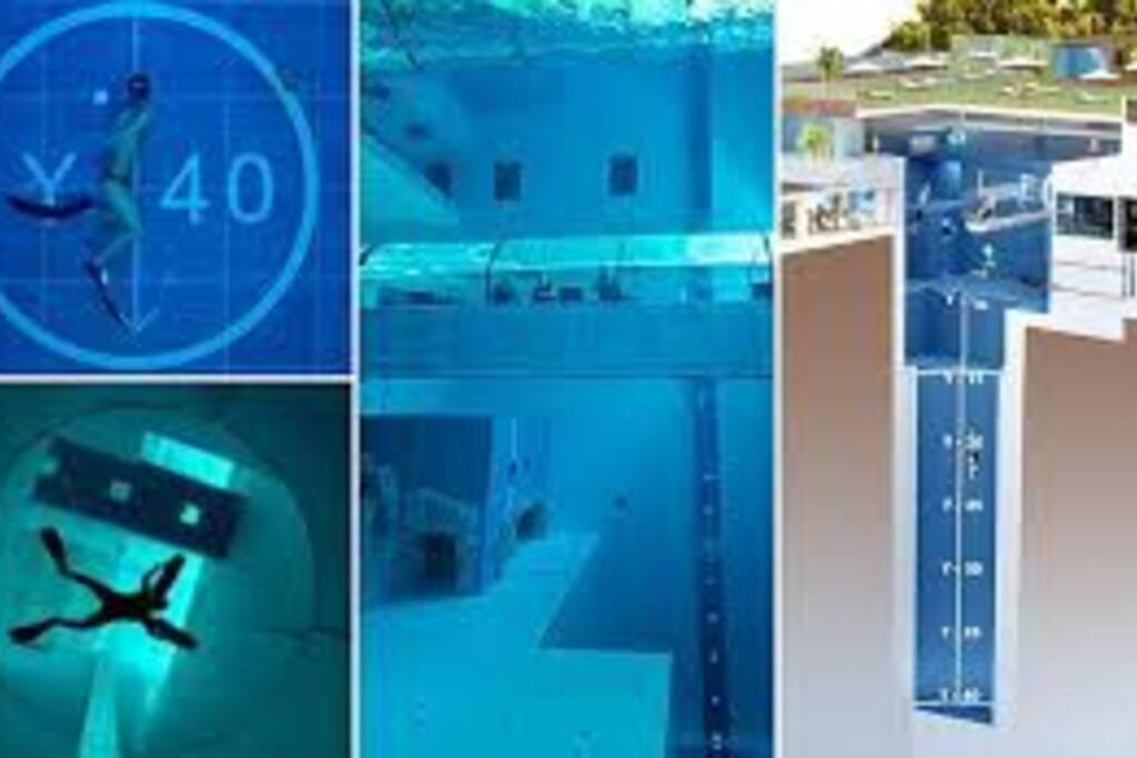Y-40 la piscina più profonda del Mondo