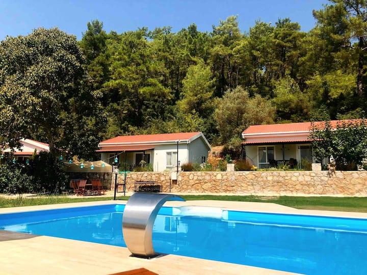Pinar's houses 4 Marmaris doğa da huzurlu tatil