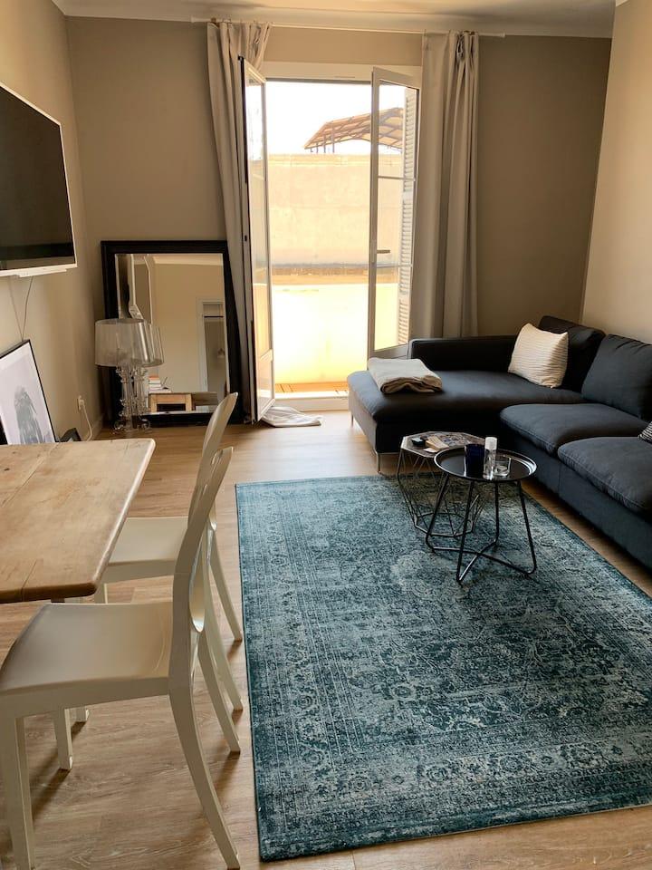 Jolie appartement avec vue sur mer