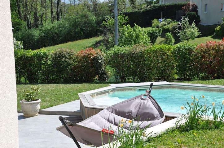 Maison avec piscine entre Annecy et Aix les Bains