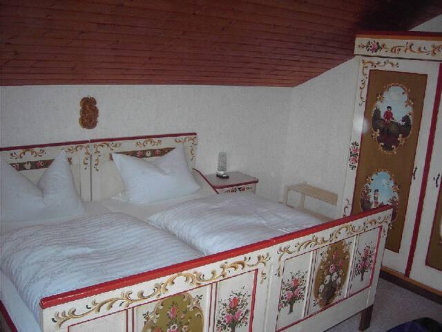 """3. Schlafzimmer, Doppelzimmer """"anno dazumal"""""""