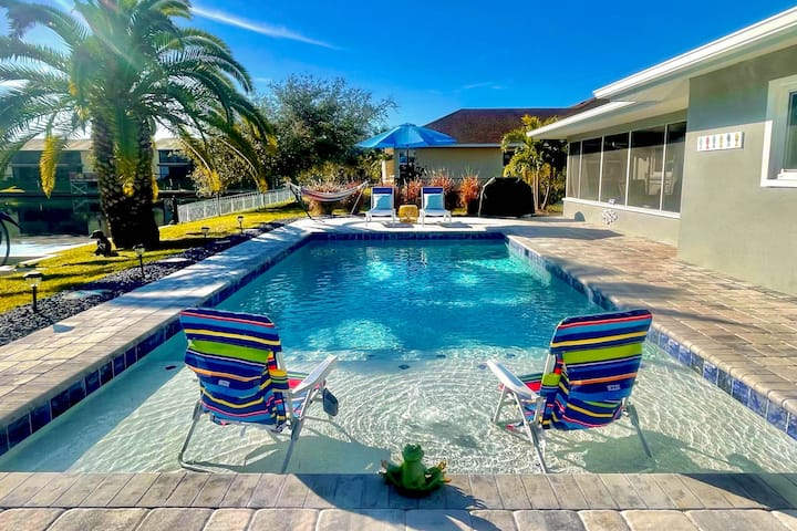 Coral Sunrise | Canal Home with Private Pool