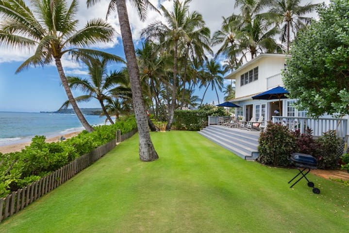 Stunning Private Beach-front Estate!!!