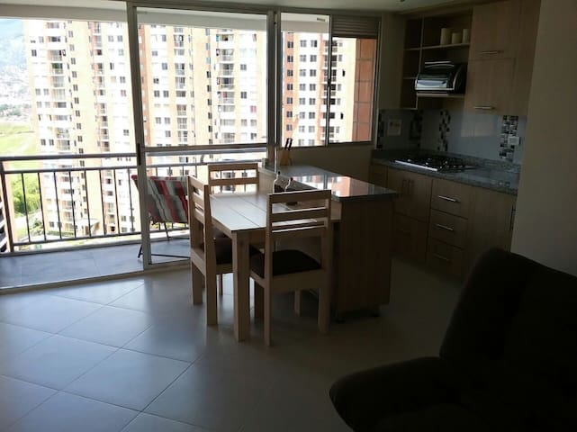 3 bedroom apartment with private parkingspace.