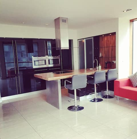 Luxury 2 bed 2 bath apt 20min from City Centre!