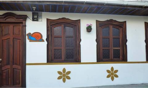 La Pequeña Casa Pijao (Habitación con una cama)