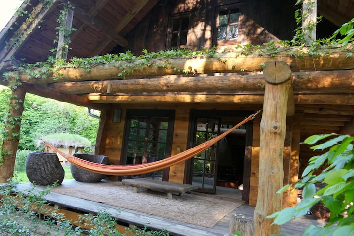 House of the 7th Sun - Eco Cottage by the woods