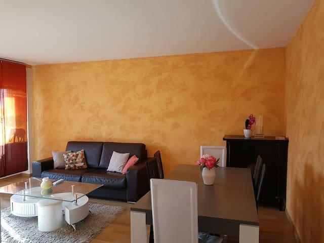 charmant appartement proche du casino d'enghien - Épinay-sur-Seine - Apartamento