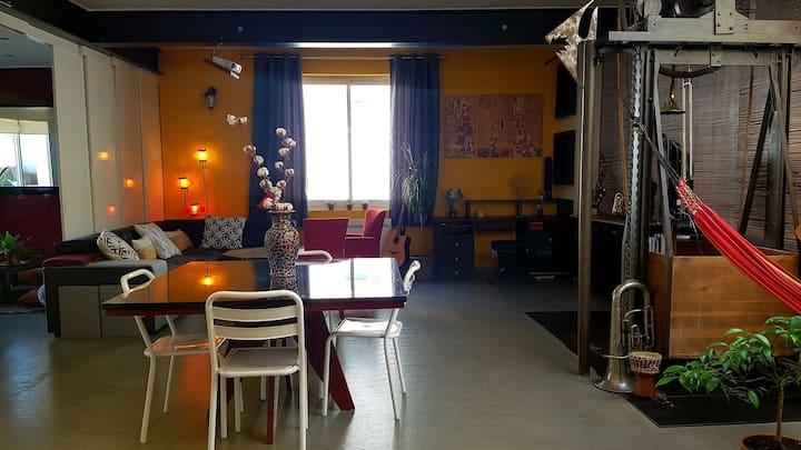 Agréable loft 90 m2 Coeur de la Doutre