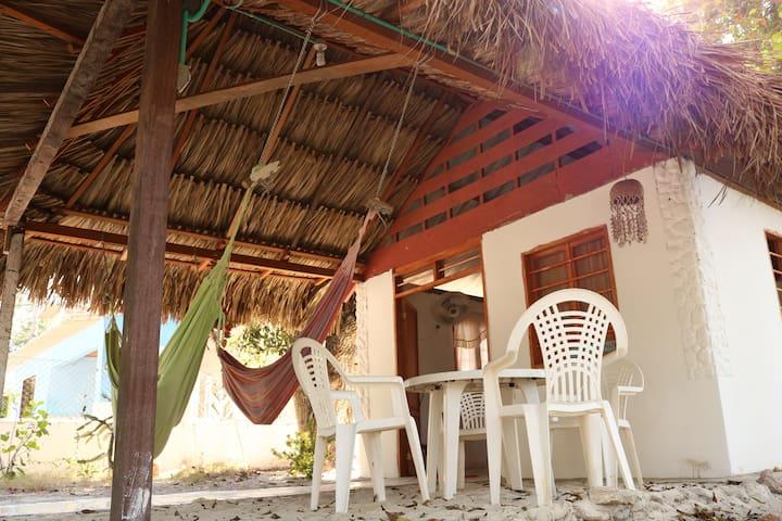 Cabaña Isla / Tierra Bomba Punta Arena 10min Cgena - Tierra Bomba
