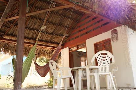 Cabaña Isla / Tierra Bomba Punta Arena 10min Cgena - Tierra Bomba - Natuur/eco-lodge