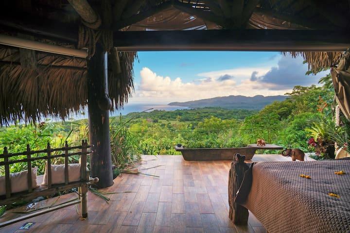 Casa El Paraíso, Las Galeras (room #5, african)
