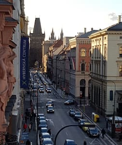 Spacious apartment in Hybernska street - Praha - Huoneisto