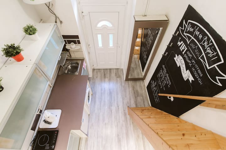 Tiny home in the city center