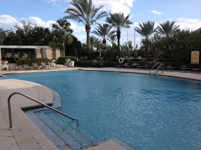 The Plaza pool