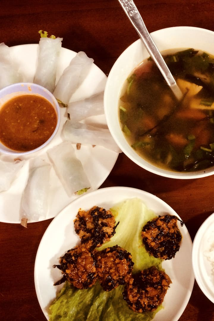Vega food preparation