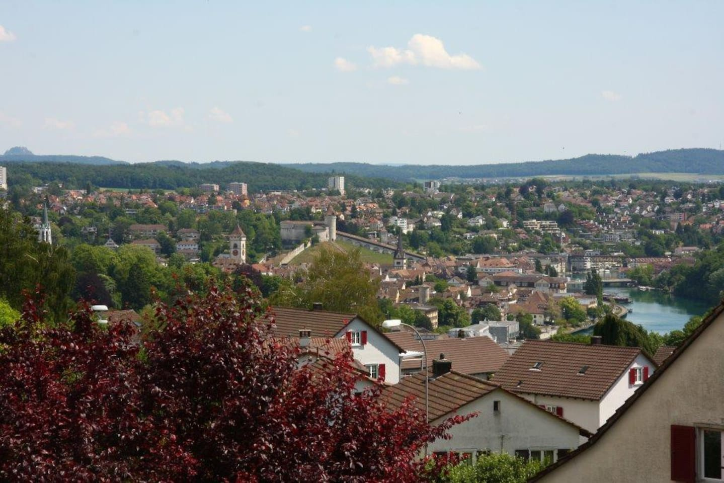 view to Schaffhausen