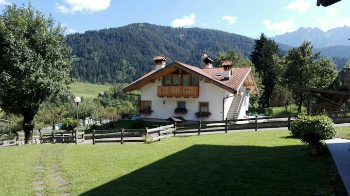 Terrazza sulle Dolomiti Patrimonio dell' UNESCO