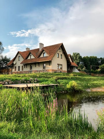 Habitat on the Hill at the Narew River